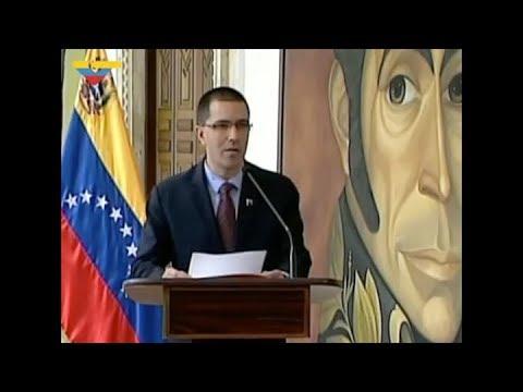 """Venezuela rechazó la """"insólita agresión y amenaza"""" de Donald Trump"""
