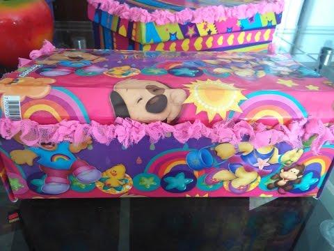 Caja forrada en tela doovi - Cajas de zapatos decoradas ...
