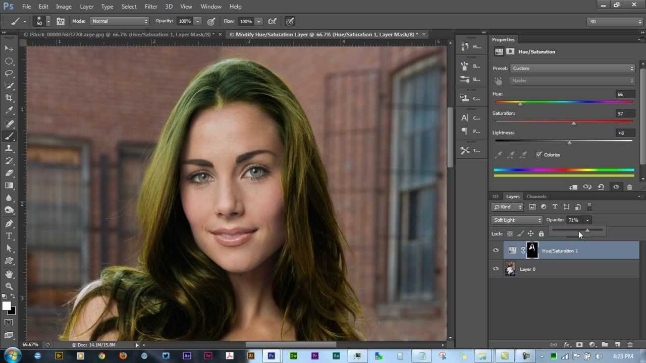 how to change temperature in photoshop cs6