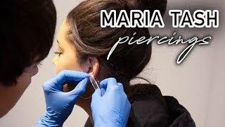 GETTING MY EAR PIERCED AT MARIA TASH | Cat Ndivisi