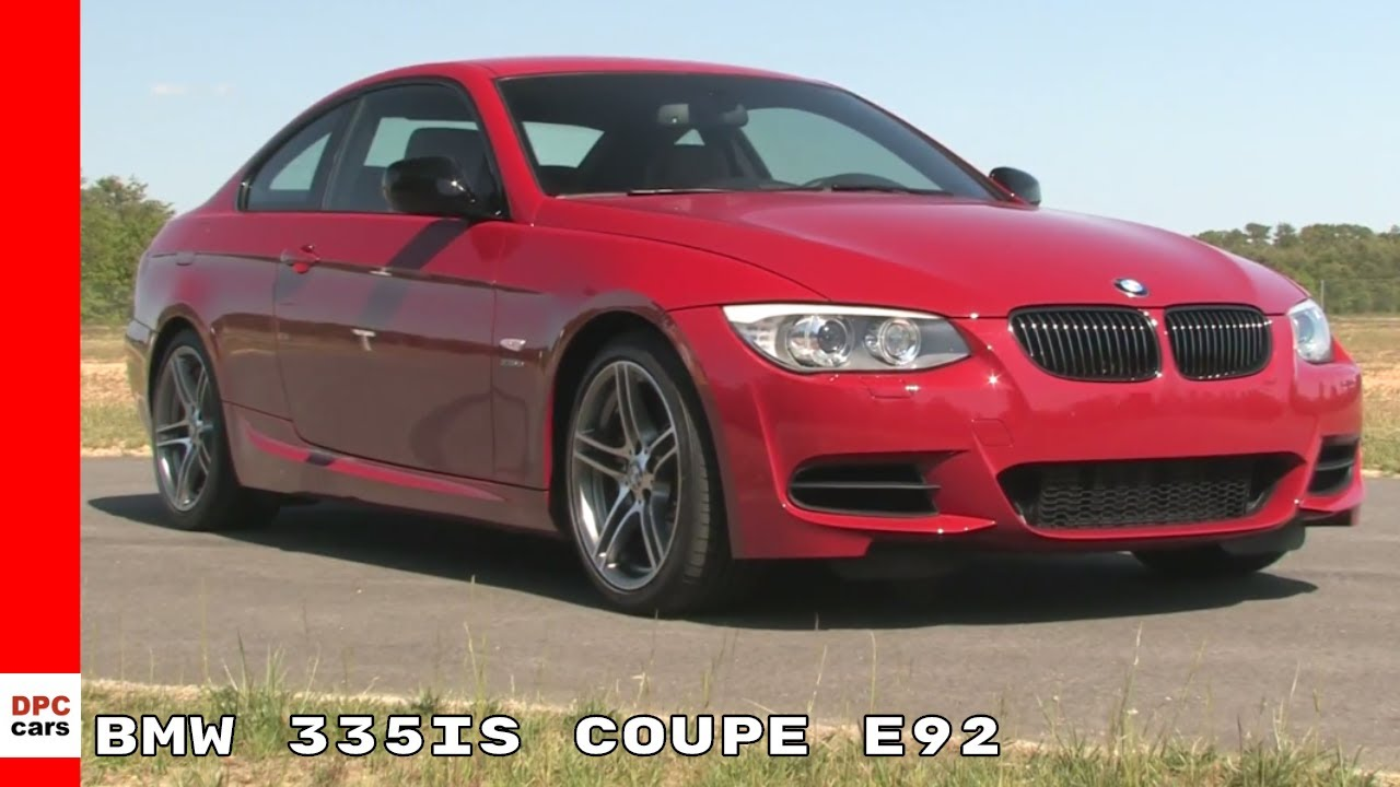2011 BMW 335is Coupe E92 - YouTube