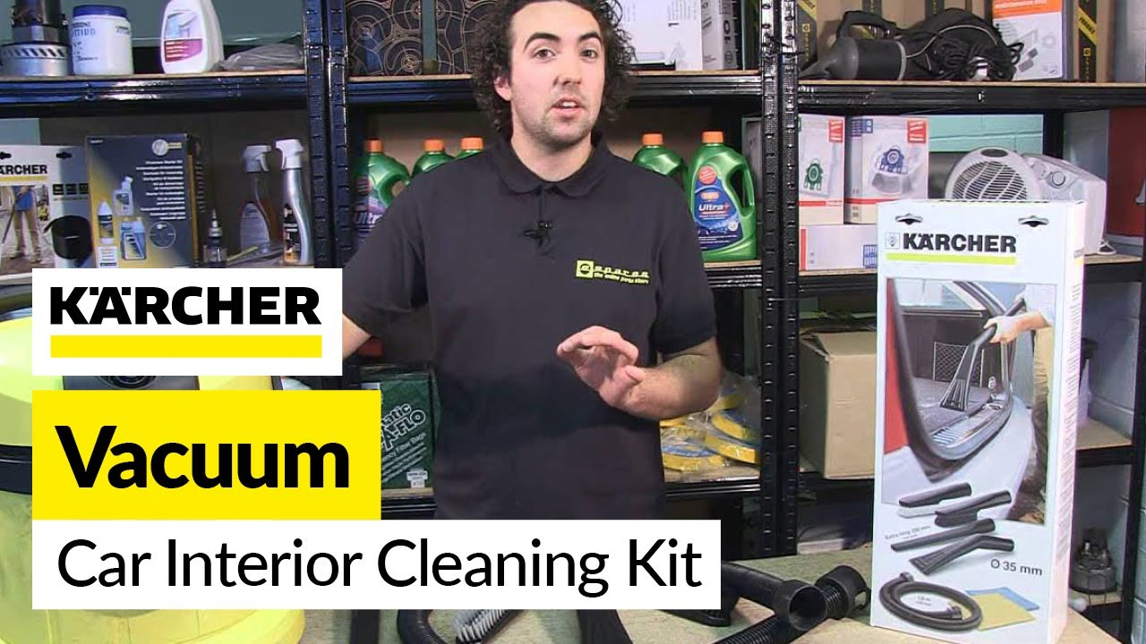 Car Interior Cleaning Kit Karcher Youtube