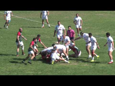 ARC 2017 - Lebanon Rugby v.s. Iran Rugby - 1/4 - 28/03/2017