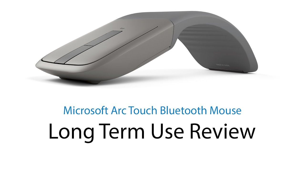 microsoft arc touch bluetooth mouse long term use review youtube. Black Bedroom Furniture Sets. Home Design Ideas