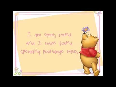 Round and Stout Lyrics (Winnie the Pooh HD)