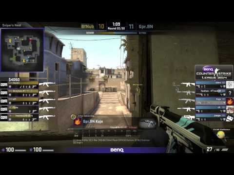 BenQ CSGO League #4 Gpr.Bn vs Bf.Nub - Finals  de_mirage