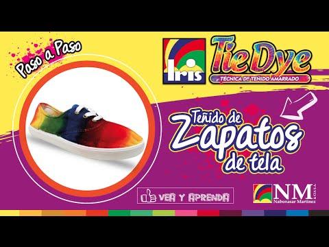 Teñir Como Tela De Diy Zapatos Con Tintes Iris DW2E9IH
