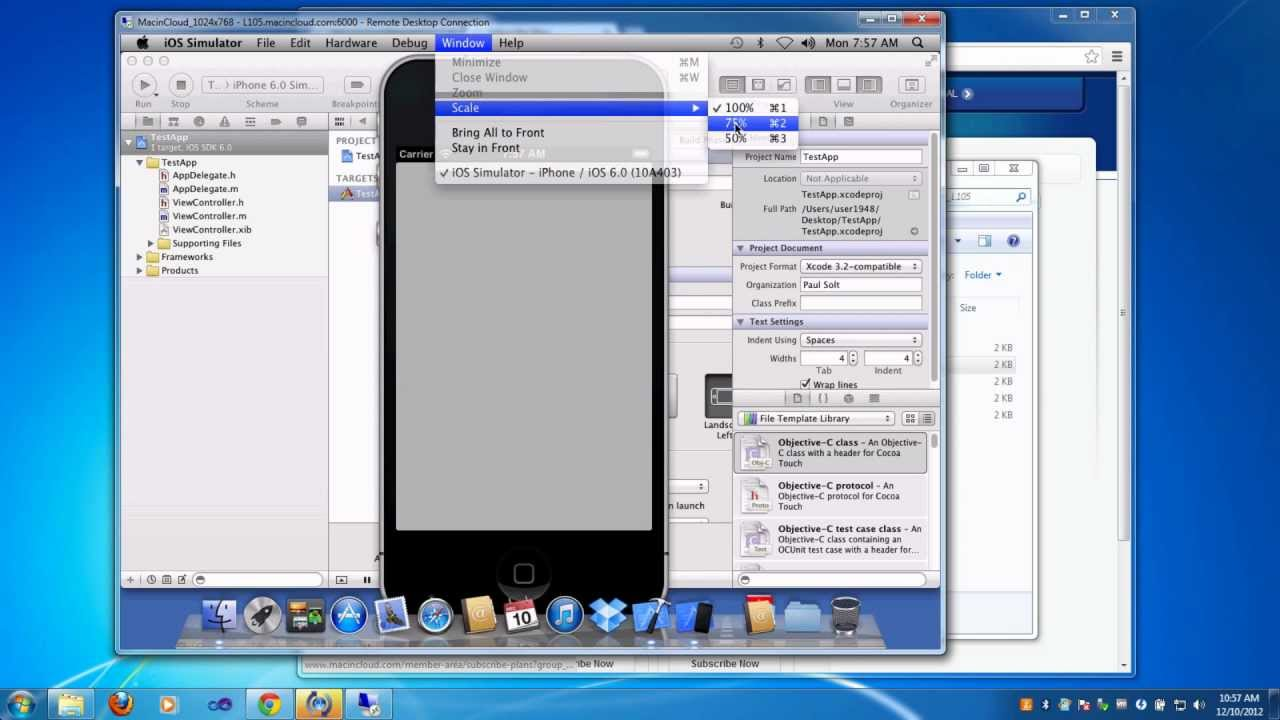 Create iPhone Apps on Your PC with MacInCloud for SkillShare