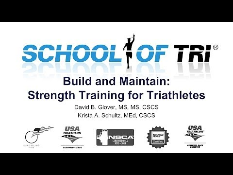 Build and Maintain: Strength Training for Triathletes Webinar