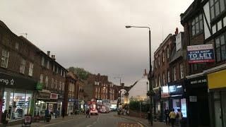 Red Sun  +  Sky in London post Hurricane Ophelia