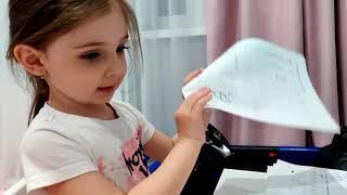 Как занимается Ева/ Занятия для деток/ Развивашки/ Развлечения/ Мультики/ Эльза и Анна