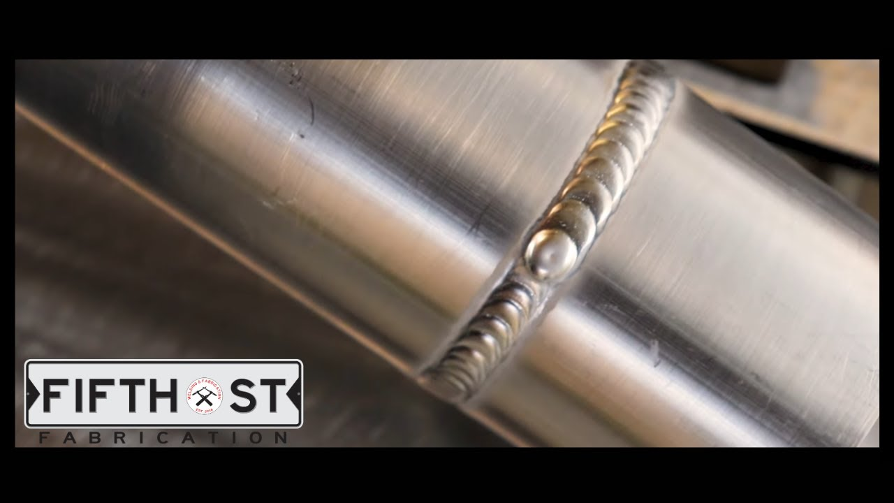 How To Weld Aluminum Pipe Youtube