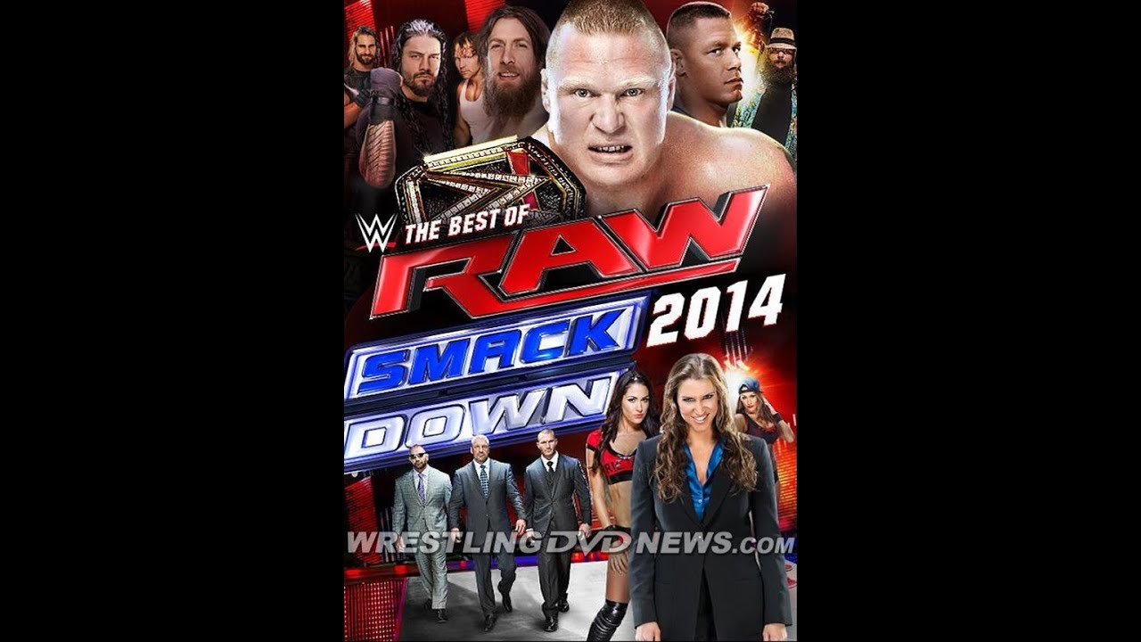 Breaking News: WWE The Best Of RAW & Smackdown 2014 DVD