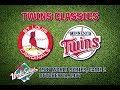 1987 WS, Game 2: Cardinals @ Twins