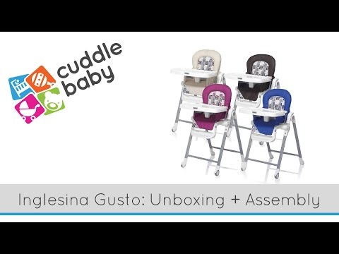 High Chair Unboxing – The Inglesina Gusto