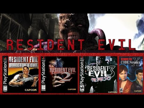 My Favorite Resident Evil Games (Halloween Special 2016)
