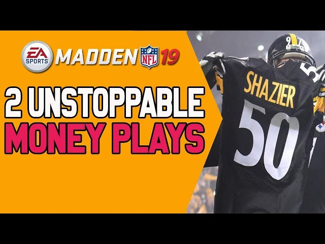 Win More Games With These 2 Money Plays In Madden 19! Tips