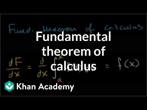 Fundamental theorem of calculus (Part 1) | AP Calculus AB | Khan Academy