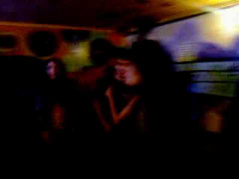 karaoke com pessoal do coral!