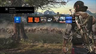 PS4 Update 6.80