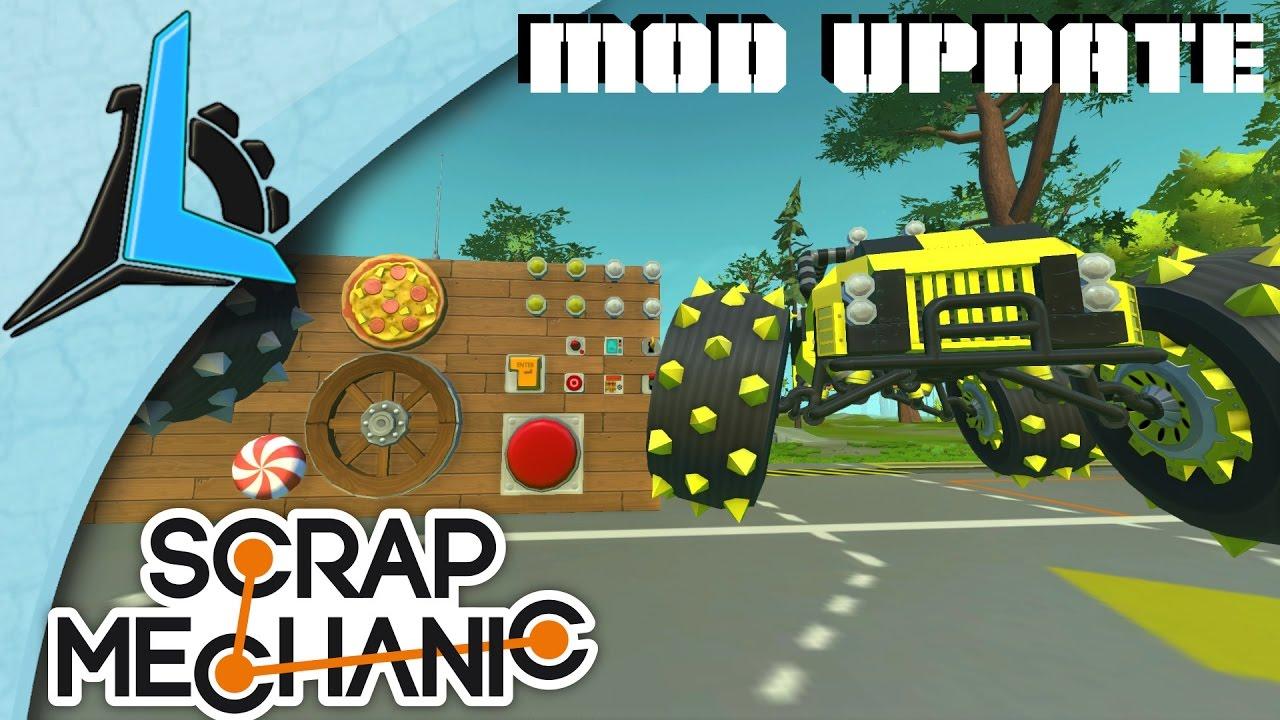 how to download scrap mechanic mods
