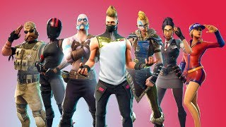 Fortnite Saison 5 Battle Pass Launch Party - Voiturettes de golf, Bushs - Nouveaux personnages Fortnite - Skins!