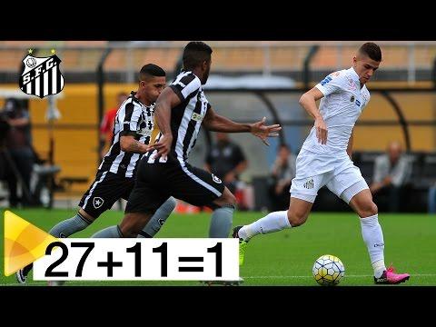 27 passes, 11 jogadores e o 2º gol do Santos FC