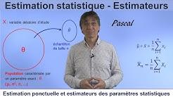 Estimateurs et Estimation statistique
