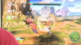 Dragon Ball Z: Battle of Z Gameplay - TGS 2013