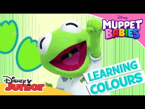 Learning Colours 🎨| Muppet Babies | Disney Channel Africa