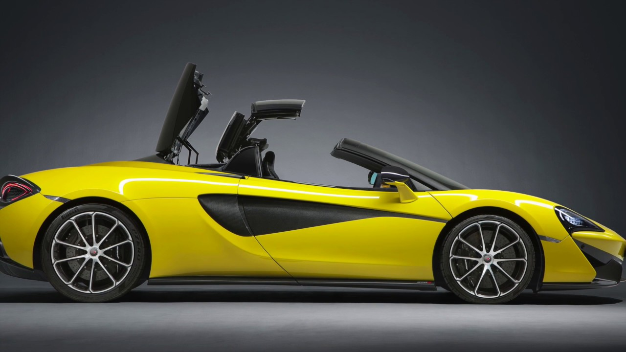 mclaren 570s spider - a convertible without compromise | automototv