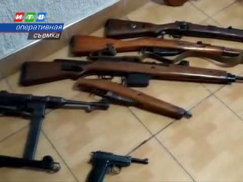 ТРК ИТВ: Крымчане предстанут перед судом за хранение оружия времен ВОВ