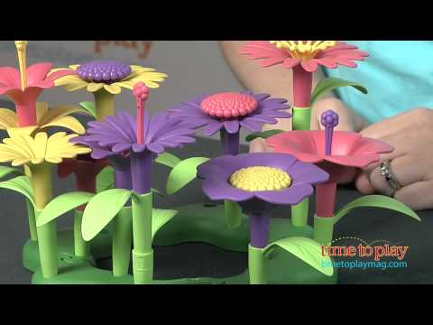 Build A Bouquet From Green Toys