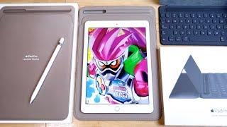 Apple新商品を検証!iPad Pro10.5インチ対応レザースリーブは9.7インチ版に対応してる?ケースやスマートキーボード装着状態でスリーブに入る?色々検証してみた。 thumbnail