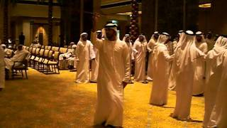 Emirates Palace: UAE Traditional wedding celebration
