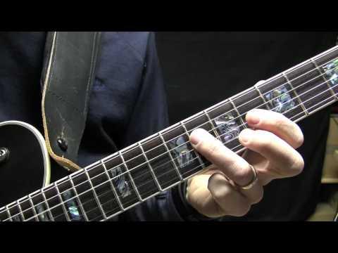 Jump Blues Guitar Lick Lesson Brian Setzer Style