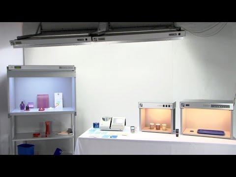 Light Booth Color Evaluation - Konica Minolta Sensing