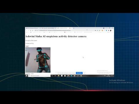 Suspicious Activity and Movement Tracking AI Camera{Hindi}