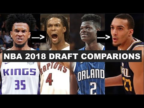Most Accurate Comparisons For Every 2018 NBA Draft Lottery Pick!