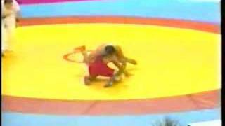 Dave Schultz v. Eisa Momeni of Iran 1994 world cup wrestling