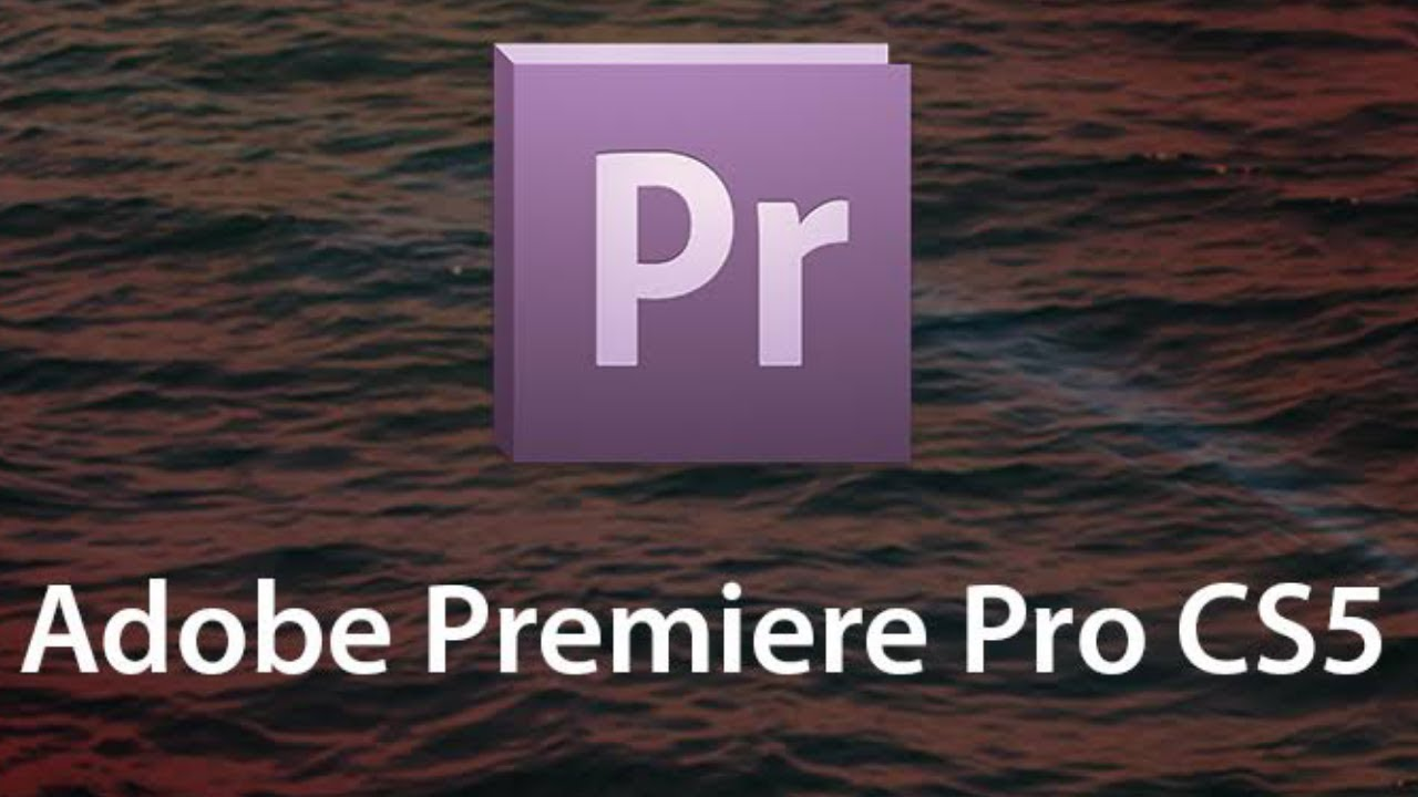 Premiere pro cs5 software