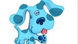 How to draw Blue from Blue\'s Clues