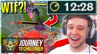 WTF JUST HAPPENED???????? LOL??? - Journey To Challenger   League of Legends