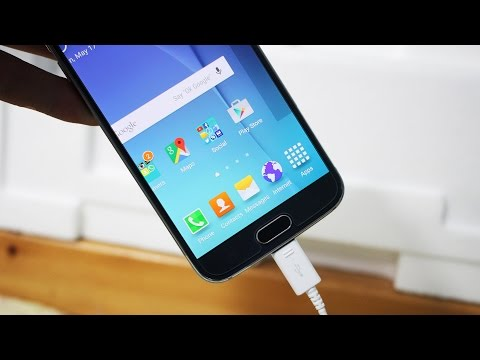 Samsung Galaxy S6 Fast Charging Speed Test -  0% to 100%