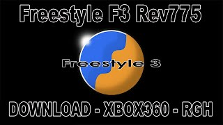 FreestyleF3Rev775 -Download - XBOX360 - RGH