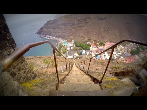 Fear of Heights? Climb Scary 200 Year Old Stairs in St Helena