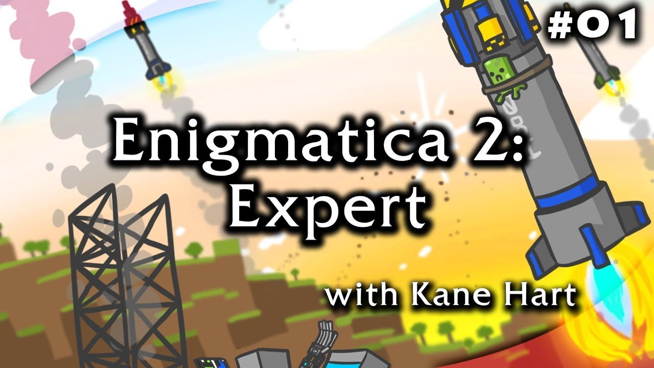 Enigmatica 2: Expert - Part 1 - Free Leather Armor & Bag!