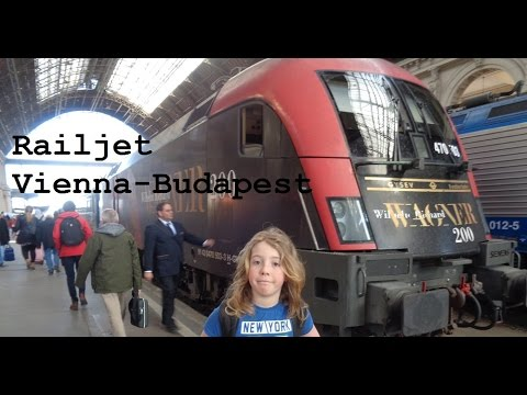 Railjet from Vienna to Budapest (Great Train Trip Pt4) - CAMT038