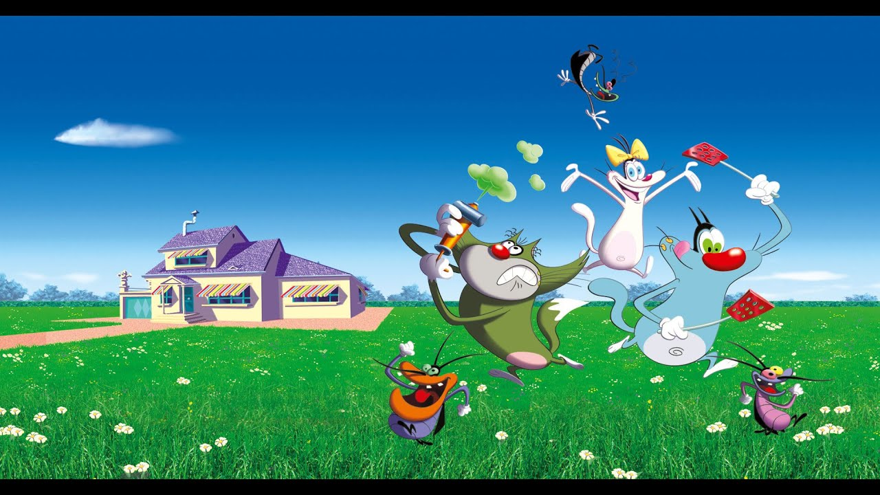oggy and the cockroaches in hindi 3gp video free download
