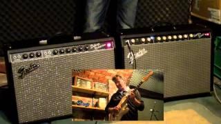 Fender Super-Sonic 22 vs Fender '65 Deluxe Reverb (Clean Test)